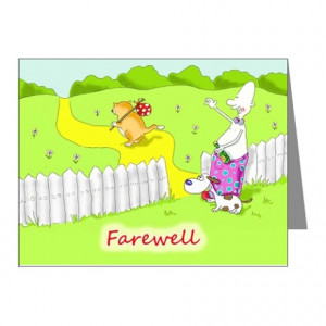 ... Pictures leaving cards farewell cheerio personalised bon voyage card