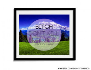 Kendrick Lamar quote Inspired // mock Inspirational by StephiiShop, $8 ...