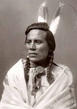 Curley, General Custer's Scout, Crow Indian, 1883