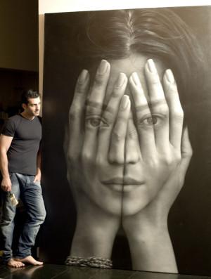Peinture à l'huile hyperréaliste par Tigran Tsitoghdzyan