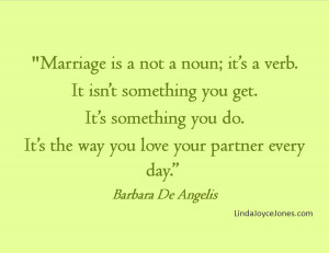 Quotes to Live By; Marriage Quote