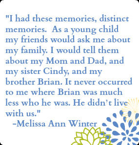 Melissa Winter, Adult Adoptee and Author