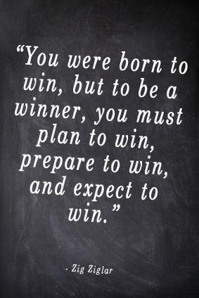 How much planning & preparation do you dedicate to 'winning'? Do you ...