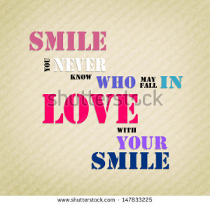 ... Love ~ falling in love with your smile Quotes N Poems | Quotes N Poems
