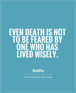 Buddha Quotes Death Quotes