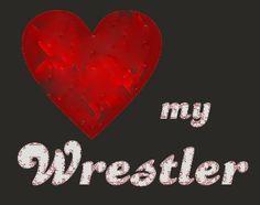 Love my wrestlers...cheered wrestling through high school, married a ...