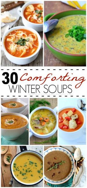 ... Winter, Winter Food, 30 Winter, Winter Soups, Soups Recipes, Souprecip