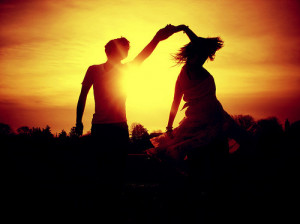 beautiful, dance, light, photography, sunset