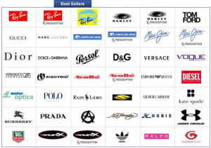 top sunglasses brands logos