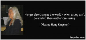 Quotes About Ending World Hunger