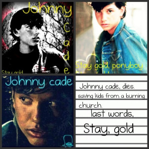 Johnny Cade The Outsiders Johnny cade by