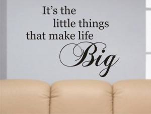 Life quote decal sticker wall words beautiful nice