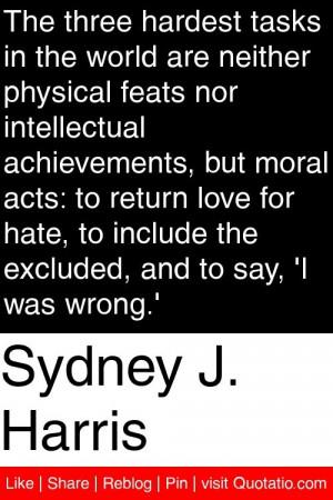 Sydney J Harris Quotes Love