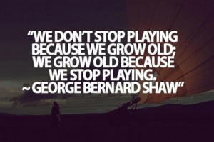 About growing old, or not!
