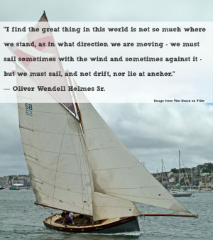 Must Sail Quote