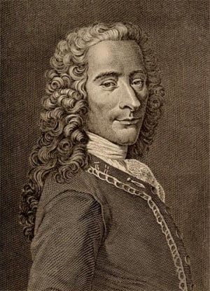 essay on french philosopher voltaire View essay - candide (french) essay from hst 104 at muhlenberg college french philosopher voltaires candide is a funny but deeply revealing and analytical look at enlightenment thinking the book.