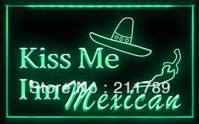 mexican quote neon light