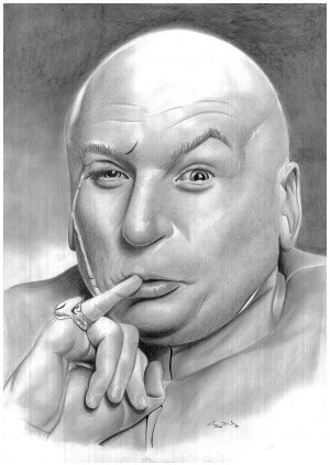 Dr Evil Wallpaper Dr evil by donchild