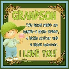 Proud of Grandson Quotes | love my grandson's Angel, Grandson Quotes ...