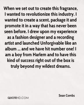 Sean Combs Sex Quotes
