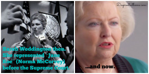 Wade' (and what I didn't know), Norma McCorvey, Justice Harry Blackmun ...