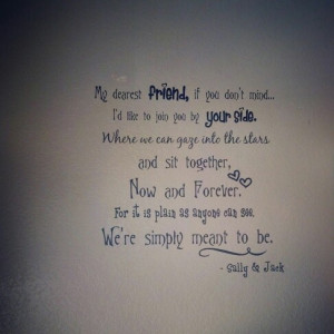 Jack And Sally Love Quotes Jack and sally .. love