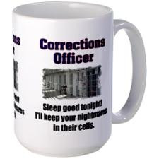 Corrections Officer Mug for