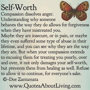 Self-Worth~