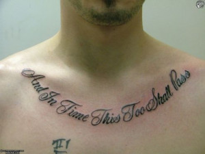 Tattoo Ideas: Quotes on Strength, Adversity, Courage