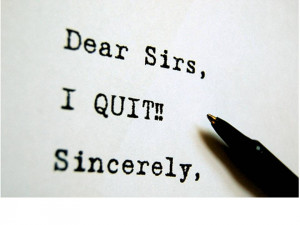 leave my job, quit my job, when to look for a new job, employed job ...