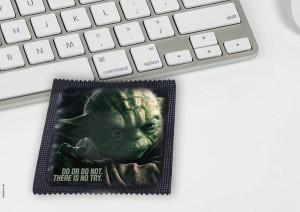 Star Wars Condoms Safely Wrap Your Lightsaber