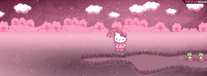 Cute Hello Kitty Facebook Cover Preview