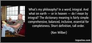More Ken Wilber Quotes