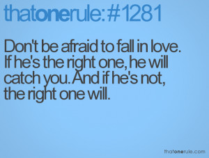 afraid to fall in love quotes