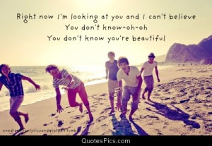 Youre Beautiful Quotes You're beautiful one