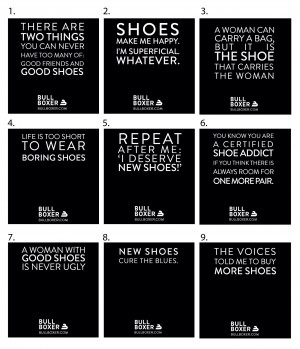 We at Bullboxer Shoes love a good quote about shoes! What's your ...