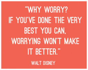 Walt Disney Success Quotes