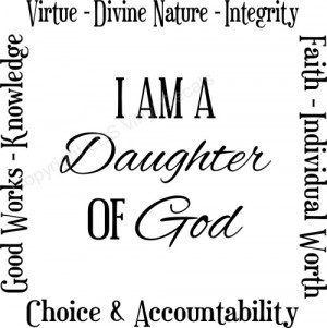 File Name : yw-values-daughter-of-god.jpg Resolution : 500 x 503 pixel ...