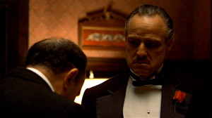 Bonasera: Be my friend?... Godfather