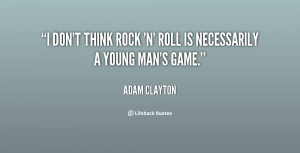 Adam Clayton Quotes