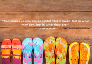 ... , inner beauty quote, Sometimes People Are Beautiful Not In Looks