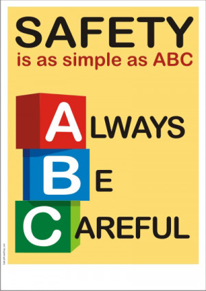 Poster Title : Safety is as Simple as ABC