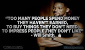 Will Smith Quotes - Too Many People