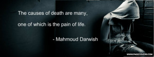 Mahmoud Darwish Cover Comments