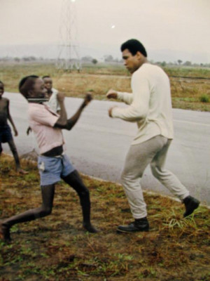 Muhammad Ali, The Greatest, 1974.