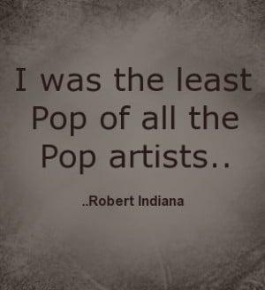 Pop of all the Pop artists. Robert Indiana. Celebrate Robert Indiana ...