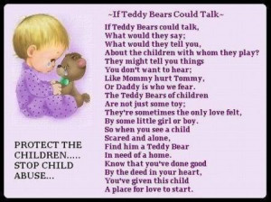 Against Child Abuse Quotes picture