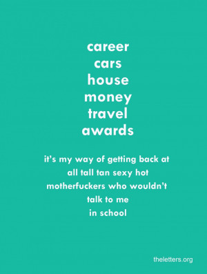Humorous Quotes About Love And Life: The Letter About Career Cars ...