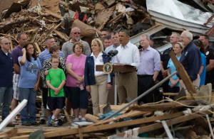 Obama Quotes Bible to Urge Americans to Step Up Aid to Oklahoma ...