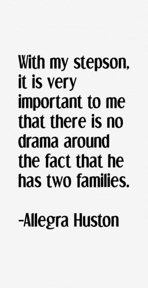 Allegra Huston Quotes amp Sayings